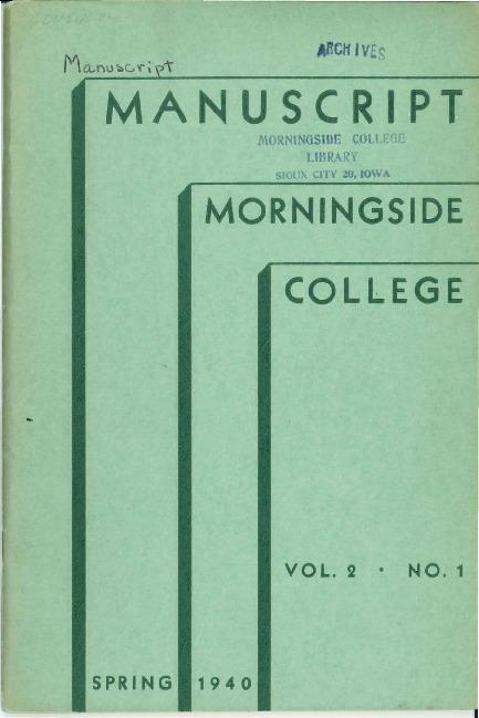Manuscript: Volume 02, Number 01