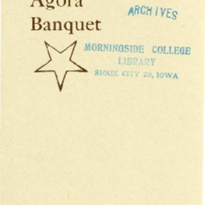 Agora Club Sixth Banquet Program