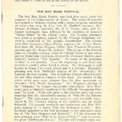 Morningside College Bulletin Volume 05 Number 02 (1905-08)