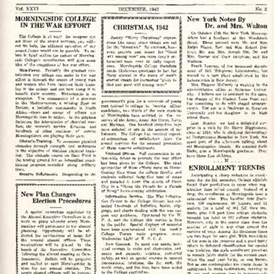 Morningside College Bulletin: Volume 26, Number 02 (1942-12)