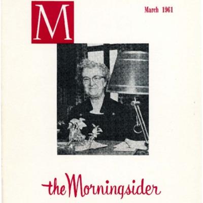 Morningsider: Volume 19, Number 03 (1961-03)