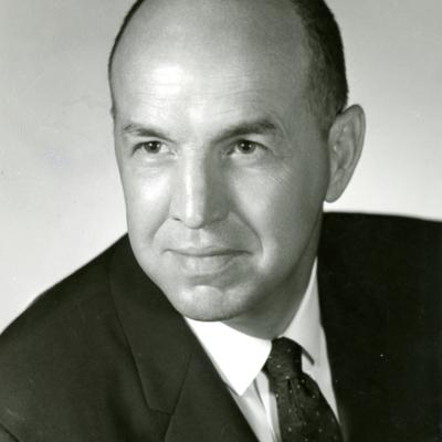 President J. Richard Palmer Portrait
