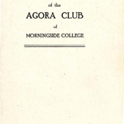 Agora Club Constitution