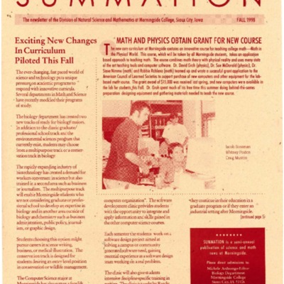 Summation Fall 1998