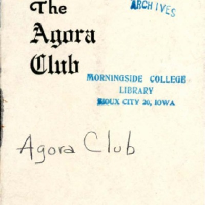 Agora Club Constitution and By-Laws
