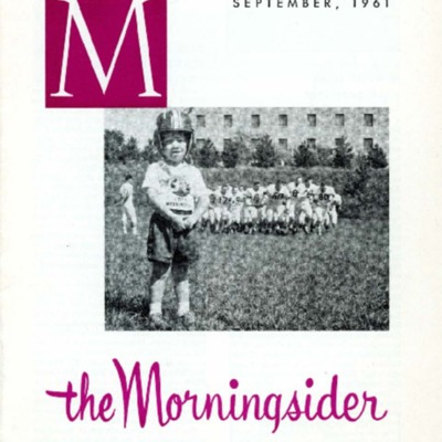 Morningsider: Volume 20, Number 01 (1961-09)