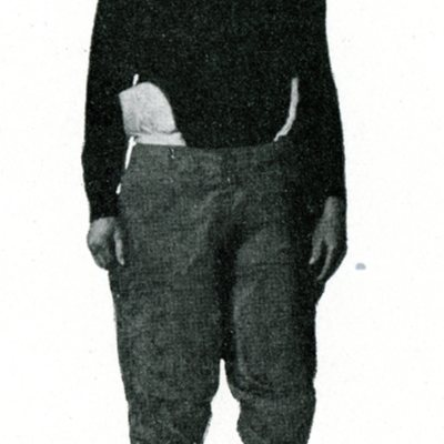 Scanned Photo of Albert E. Behmer, Class of 1919