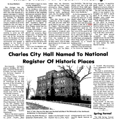 Charles City Named to Register