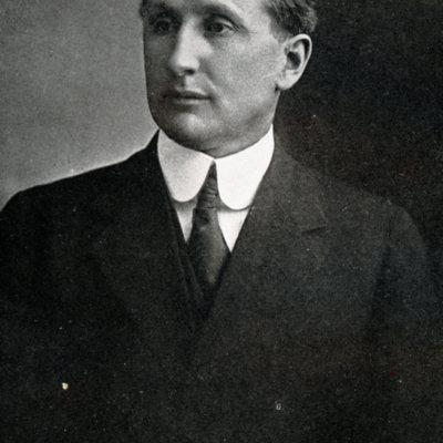 Portrait of former Morningside College president, Frank E. Mossman, ca. 1920