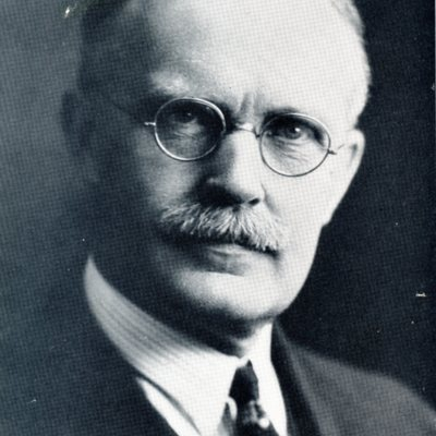 Portrait of Professor Herbert G. Cambell