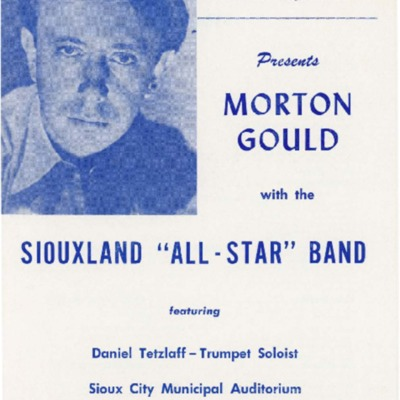 Iowa Bandmaster's Association All-Star Concert, 1954