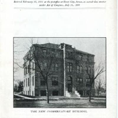 Morningside College Bulletin Number 28 (1915-12-01)