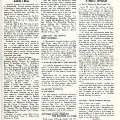 Morningsider: Volume 07, Number 01 (1948-09)