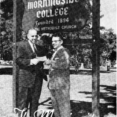 Morningsider: Volume 17, Number 01 (1959-09)
