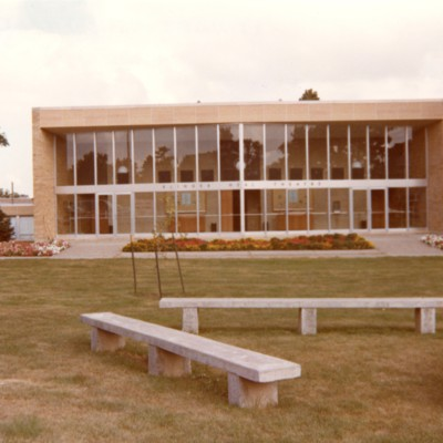 Klinger-Neal Theater with Benches
