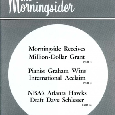 Morningsider: Volume 31, Number 03 (1975-07)
