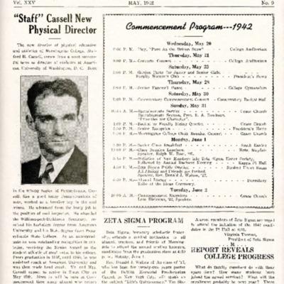 Morningside College Bulletin: Volume 25, Number 9 (1942-05)