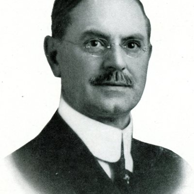 Scanned Portrait of President Alfred E. Craig
