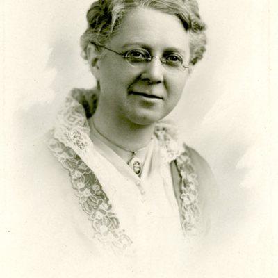 Portrait of Agnes B. Ferguson ca. 1920