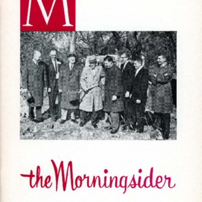 Morningsider: Volume 20, Number 02 (1961-12)