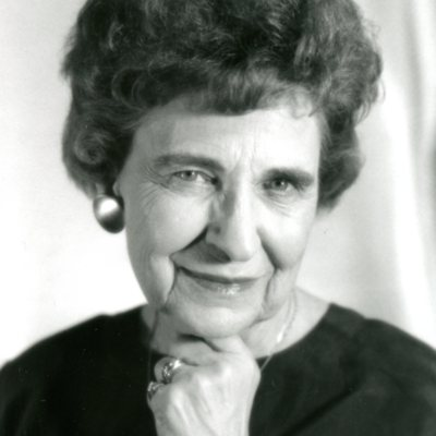 Portrait Photograph of College Vice President  Ruth Green