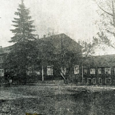 Scanned Photo of Students' Army Training Corps Barracks