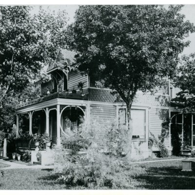 Peters Home later Mendota Hall Side View