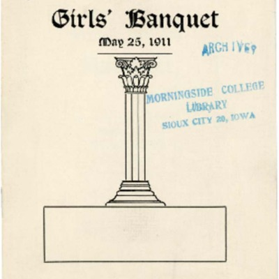 Agora Club Second Girl's Banquet Program