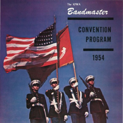 Iowa Bandmaster Convention, 1954