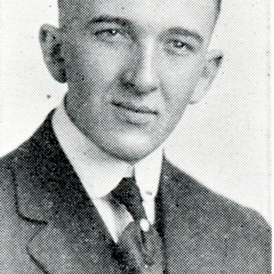 Scanned Portrait of Leon Hickman from 1918-1919 Bulletin